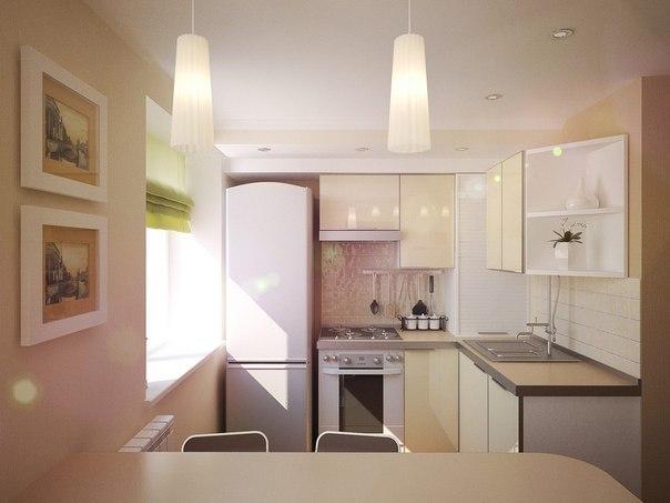Интерьер дизайн маленькой квартир кухня студия фото 32